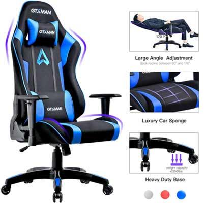 7 Chaise de jeu GTXMAN